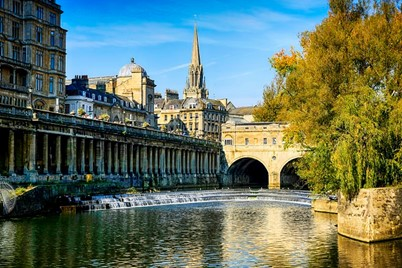 Bath on a summers day